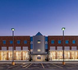 Health center building exterior design