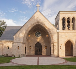 Heimsath Architects Good Shepherd Nave Renovation and Narthex Church Entrance