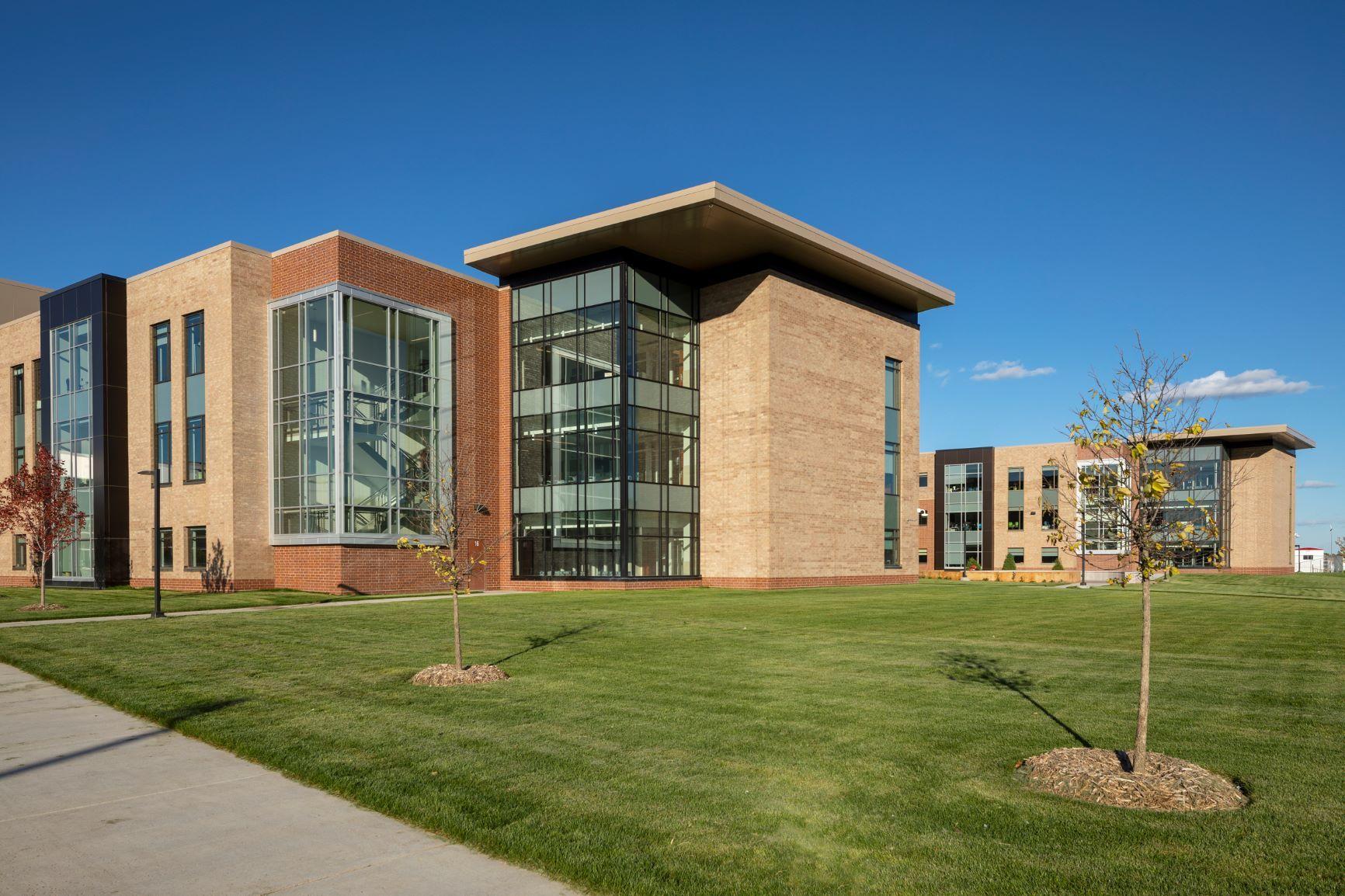 High School Exterior Design
