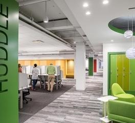 Hollman Inc Locker Room Design Capital One Office