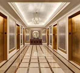 Hotel Luxury Elevator Lobby