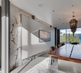Iceberg Architectural Glass Partition