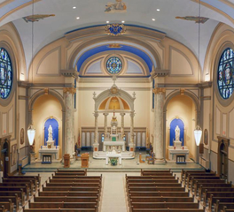 Immaculate Conception JTH Lighting Alliance Charles City Iowa