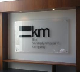 Interior Sign - KM Company