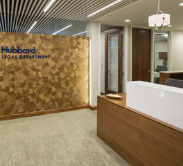 inunison design hubbard legal department reception area