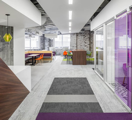 iSpace Environments Fish & Richardson Minneapolis Minnesota Office Space Design