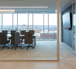 iSpace Environments Gislason Hunter Mankato Large Conference Room Architectural Walls