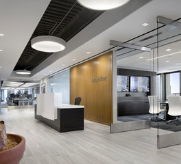 iSpace Environments Piper Jaffray Lobby and Conference Room Glass Doors
