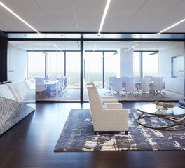 iSpace Environments Piper Jaffray Modern Reception and Office Workplace Lobby Designs