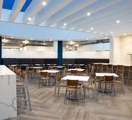 iSpace Environments YMCA Minneapolis Minnesota Employee Common Area and Break Room