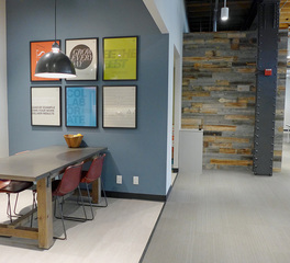 Jennifer Tulley Architects Jackson Square Office Space Design San Francisco California Break Room and Common Space Design