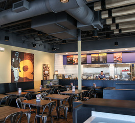 Jim   Dudes QDOBA Restaurant