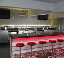 Johnny Rockets Diner Style Restaurant Dining Area