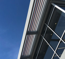 Johns Architectural Metal Solution JAM Niagara Warehouse Exterior Sunshades  3