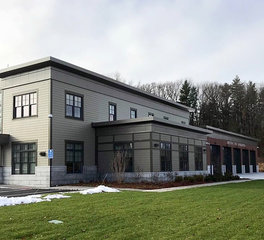 Johns Architectural Metal Solution JAM Westford Fire Station exterior 2