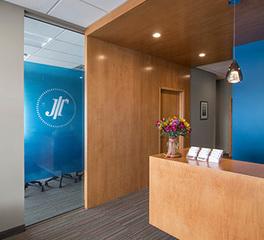 Johnson Turner Legal NewStudio Architecture Reception Wayzata MN