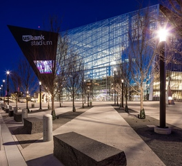 JTH Lighting Alliance US Bank Stadium Exterior Pedestrian Area Lighting