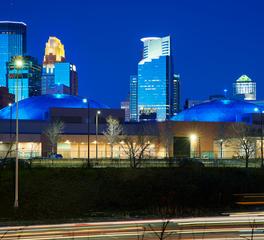 JTH Lighting Minneapolis Convention Center Skyline