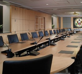 KCCT Architects Harry S Truman Old State Modernization Conference Room Design