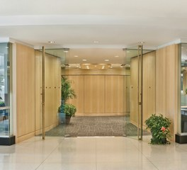KCCT Architects Pan American Health Organization PAHO Entrance Lobby
