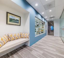 KCCT Architects US Beet Sugar Association Interior Renovation Waiting Area Corridor