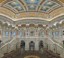 KCCT Library of Congress Thomas Jefferson Building Library Lobby Design and Foyer