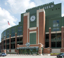 Lambeau Field Bellin Health Gate