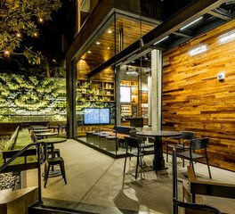 Landstudio starbucks downtown disney exterior x