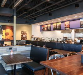 Larson Contracting QDOBA Restaurant Dining 5