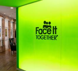 Lenae design face it together offices signage