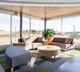 Lenae Design Reliabank Mortgage waiting area