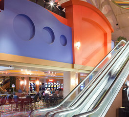 Loeffler Construction For Sill Apache Casino Escalators