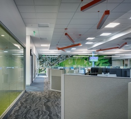 Luther Automotive Support Center Interior