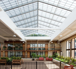 Major industries Atrium translucent panel system slylight system