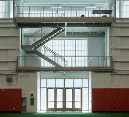 Major Industries Miami University of Ohio indoor sports center translucent paneling system