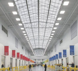 Major industries philadelphia Regional Produce Market skylight system