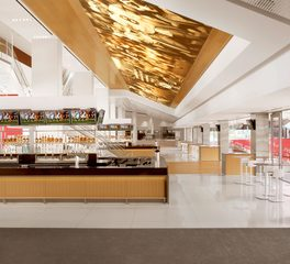 Materials Inc Levi's Stadium Tabu Natrual and Dyed Veneer Santa Clara California Concessions