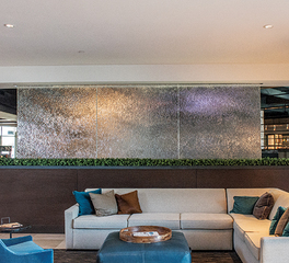 Meltdown Glass & Art Design Partitions & Privacy Screens Sheraton Mesa Hotel