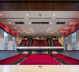 Meteor Lighting Central College Douwstra Auditorium Design