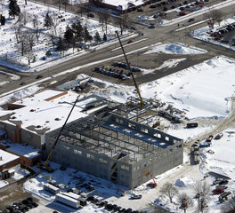 Mid State Concrete Badger Middle School Overview IN Progress