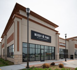 Muddy Paws CHA Architecture and Construction Store Exterior Design