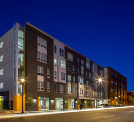 Multi family housing exterior designs