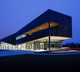 Neumann Brothers Waukee Innovation and Learning Center Exterior Facade