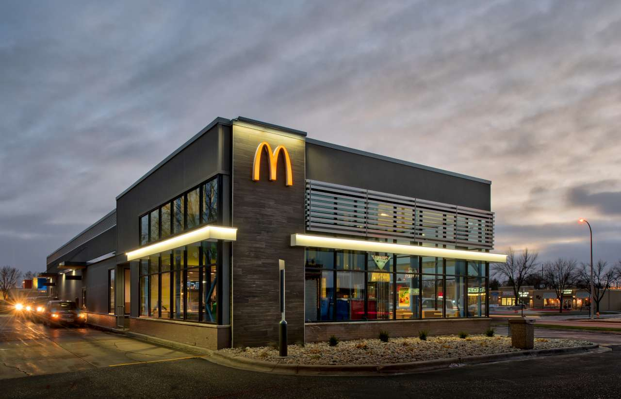 Nor-Son Commercial Construction mcdonalds grand forks exterior design