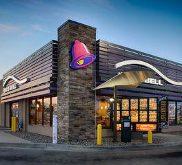 Nor-Son Commercial Construction Taco bell  baxter exterior drive thru 1