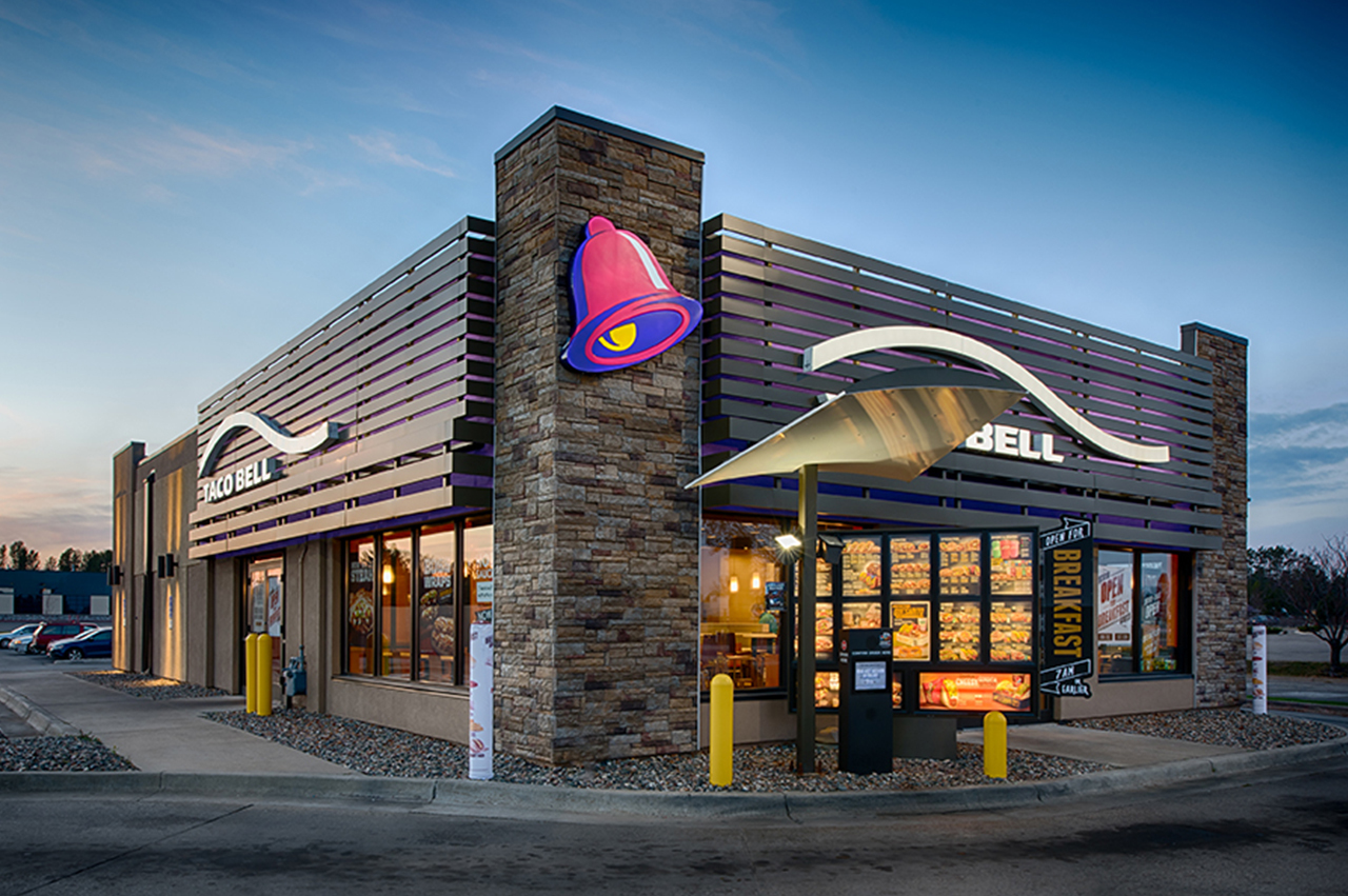 Nor-Son Commercial Construction Taco bell  baxter exterior drive thru 1