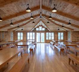 Nor-Son Construction Camp Lake Hubert Dining Hall