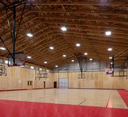 Nor-Son Construction Camp Lincoln Activities Center Gymnasium Construction