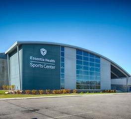 Nor-Son Construction Essentia Health Sports Center exterior