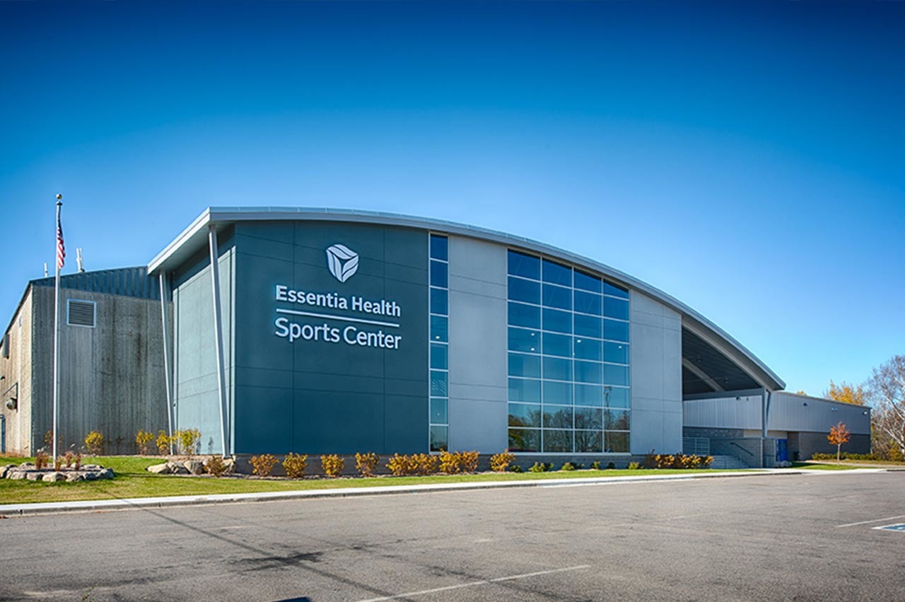 Nor-Son Construction Essentia Health Sports Center exterior